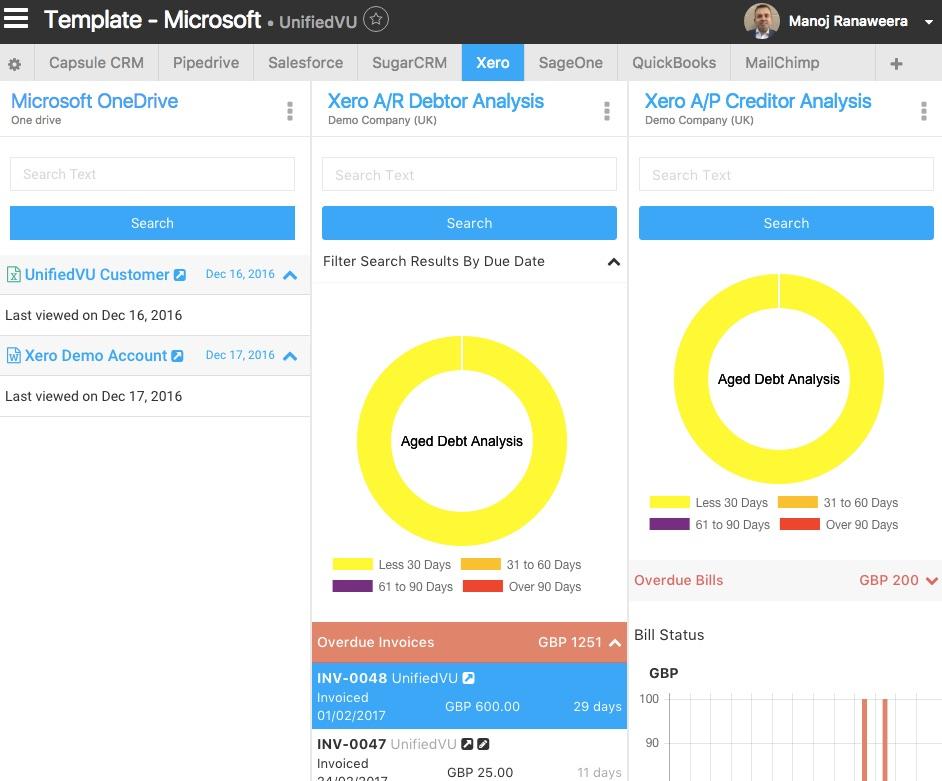 Microsoft OneDrive Xero Integration